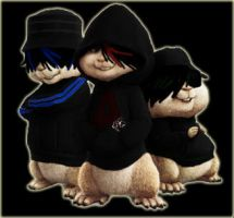 Alvin and the Chipmunks - Emo by LadyZealtous