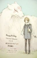 Happy Birthday Natsume Takashi by Amika-theonenonly
