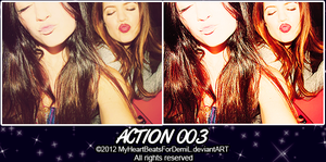 Action +OO3 by MyHeartBeatsForDemiL