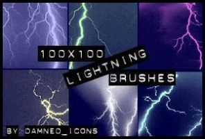 Lightning Brushes by dyskrasia04