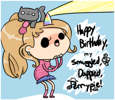 happy bday dapple :'D by Cushies