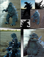 Godzilla 2003 Sculpt by DragonosX