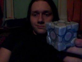 companion cube by deathmock5