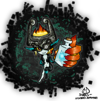 Midna~ by ShadesSagacious
