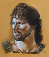 Eric Bana 2 - Hector - TROY film 2004 by dmkozicka