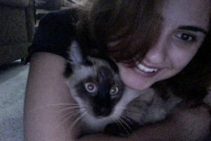 Me and my baby kitten2 by cah-meyer