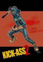 Kick-Ass - Josh Templeton colors by SpiderGuile