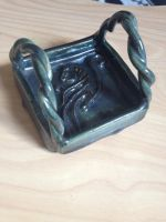 Blue Tattoo Kitty Soap Dish by Wootzie14
