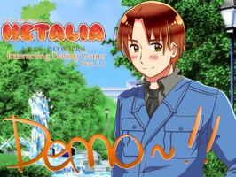 Hetalia: Interacting Dating Game DEMO *RELEASE* by iRYANiC