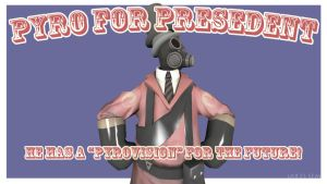 Pyro for President by iAR3S