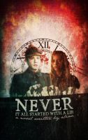 Cover for 'Never' by durmsteiger