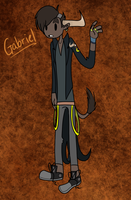 Gabriel NEW OC by AskCodytheGhost