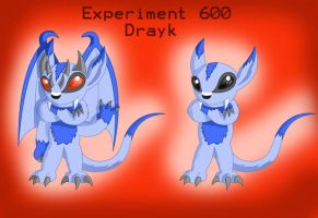Experiment 600: Drayk by DrentaiWolf