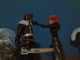 Squall and axel by lobe by chocostyle13