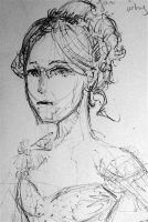 Sketch of a girl by ma6
