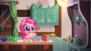 Early Morning at the Bakery by KittehKatBar