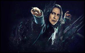 Severus Snape Large Art by LaurensHebberecht