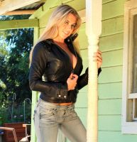 Leather and Jeans by SpankingJeans