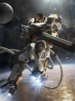 Galaxy Saga (applibot) Orbital sniper advanced by djahal