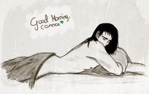 Good Morning, Connor. by xEvilDestinyx