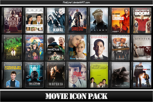 Movie Icon Pack 66 by FirstLine1