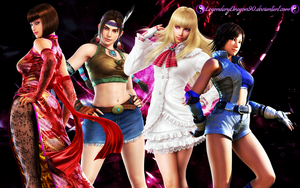 Tekken Angels by LegendaryDragon90