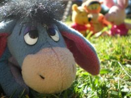 Lonely Eeyore by badhairday24