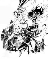 Batgirls by 0boywonder0