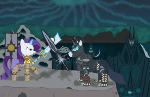Rarity Fordring vs The Lich Prince by Sound-FX42