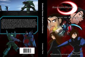 Shattered Heaven: Shadows of Existence Book Jacket by Azure-Knight33