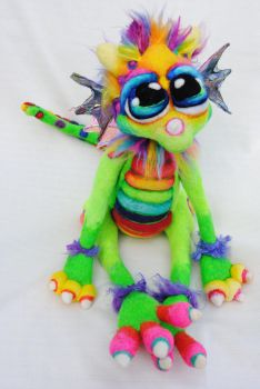 Skittle Berry Dragon by Tanglewood-Thicket