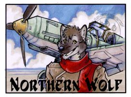 Northern Wolfs Badge by lady-cybercat