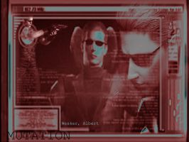 The Infamous Wesker by HiddenMutation