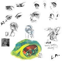 Sketch Dump 3 by LunarMew