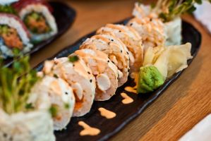 Spicy Scallop Rolls by Mgbedt420