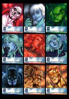 DC New 52 sketchcards 01 by Guy-Bigbelly