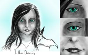 1 hour drawing by para-vine