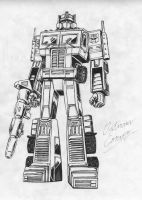 Optimus Prime by OptimusConvoy
