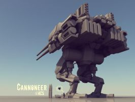 Cannoneer WIP3 by Shimmering-Sword