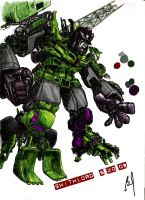 DEVASTATOR COLORS by shithlord