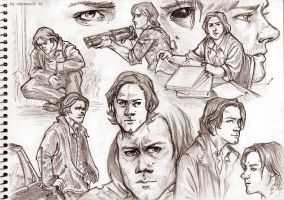 Supernatural Drawbles 02 by odyssey01