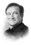 Robin Williams Tribute by WarrenLouw
