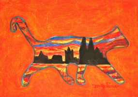 cologne cat by ingeline-art