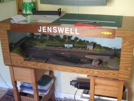 Jenswell at home by Cavyman