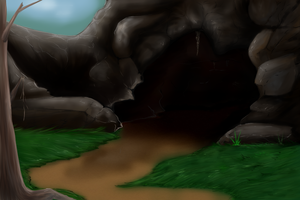 Tale of Dragons Abandoned Lair by kristhasirah