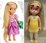 Honey Lemon Toddler before and after by BonniePride