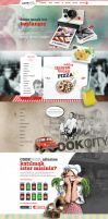 CookShop Parallax Web Design by eskikitapci