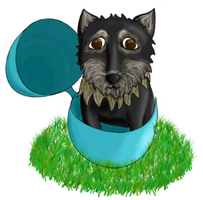 Easter Dog by PipDesign