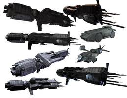 aliens_USCMC_cutouts_ssw by anthsco