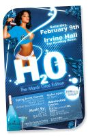 H20 Party Poster by artofmarc